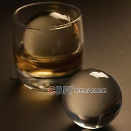 Chine 100% transparent ball ice forming machine with pure ice machine for beer and whiskey usine