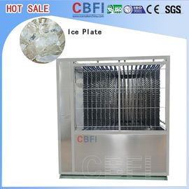 Chine machine à glace de plat de la capacité 5000kg, production élevée de machine à glace automatique distributeur